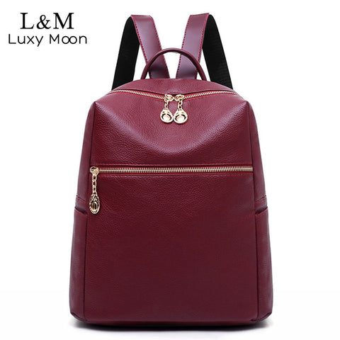 Eleganter Reiserucksack Korean Casual