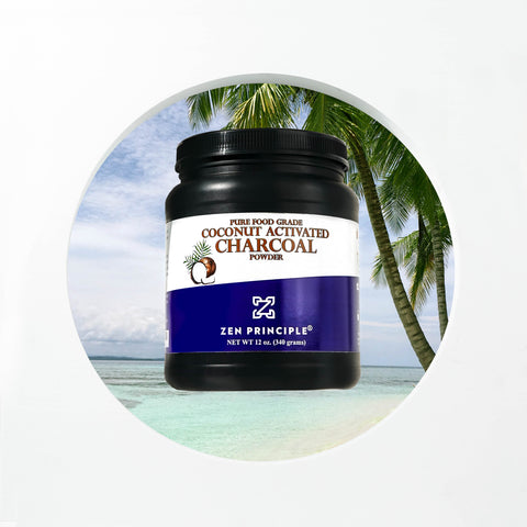 Coconut Activated Charcoal Powder for Dogs