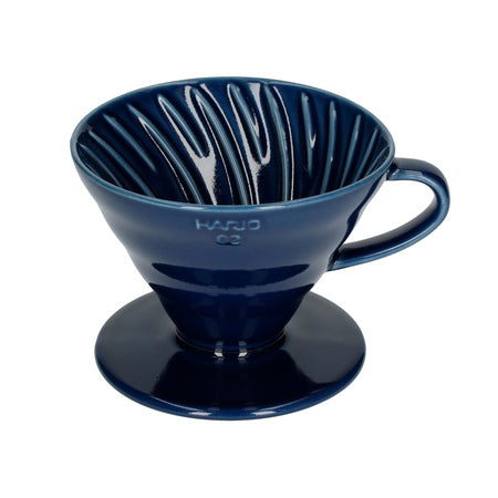 Hario V60 02 - Ceramic Coffee Dripper (blue)