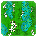 Tiki Garden Wall Coasters - The Mad Tropic