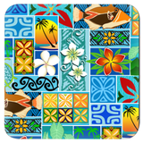 New Hawaiian Motif Coasters - The Mad Tropic