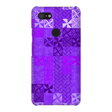 Tiki Tapa purple - The Mad Tropic