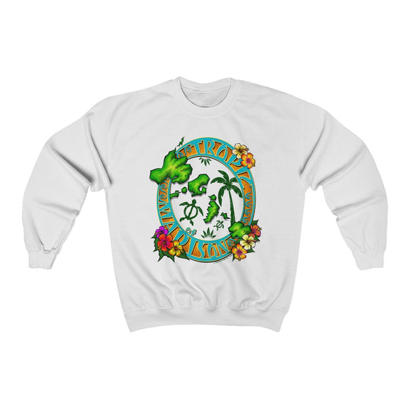 Tropic of Madison Unisex Heavy Blend™ Crewneck Sweatshirt - The Mad Tropic