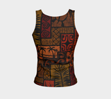 the-madtropic - Moku Malihini Black Tank - Art of Where - Fitted Tank Top (Regular)