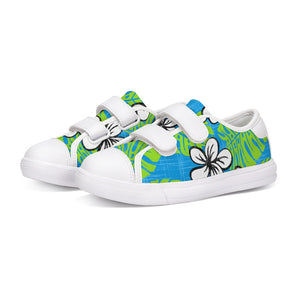 Garden's Edge Board Shorts Kids Velcro Sneaker - The Mad Tropic