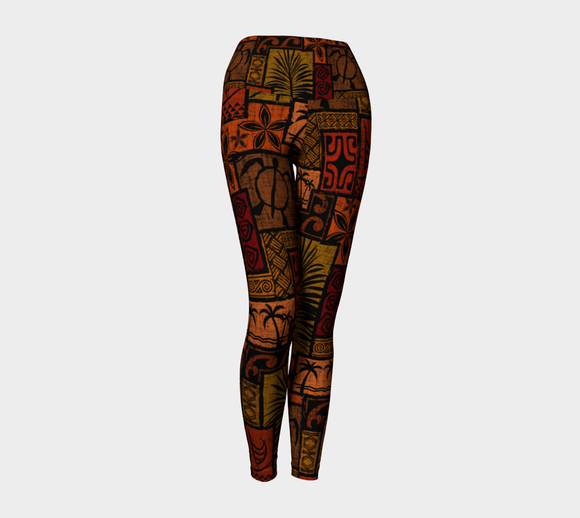the-madtropic - Moku Malihini Black Legging - Art of Where - Yoga Leggings