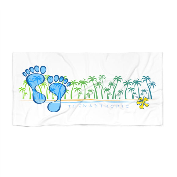 the-madtropic - Barefoot Treeline MadTropic Beach Towel - Printify - Home Decor