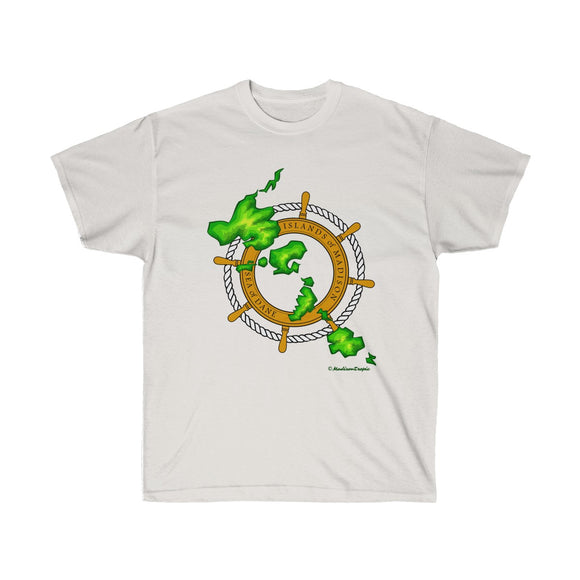 Island Wheel - Unisex Ultra Cotton Tee - The Mad Tropic