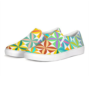 Beach Blanket Slip-On Canvas Shoe - The Mad Tropic