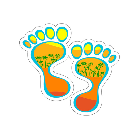 Warm Feet Kiss-Cut Stickers - The Mad Tropic