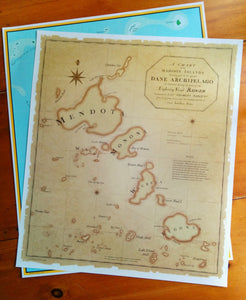 the-madtropic - A Chart of the Madison Islands and Greater Dane Archipelago - MadisonTropic LLC - Poster