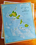 the-madtropic - Map of the Dane Archipelago - MadisonTropic LLC - Poster