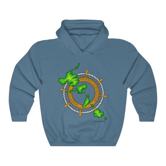 Island Wheel Unisex Heavy Blend™ Hooded Sweatshirt - The Mad Tropic