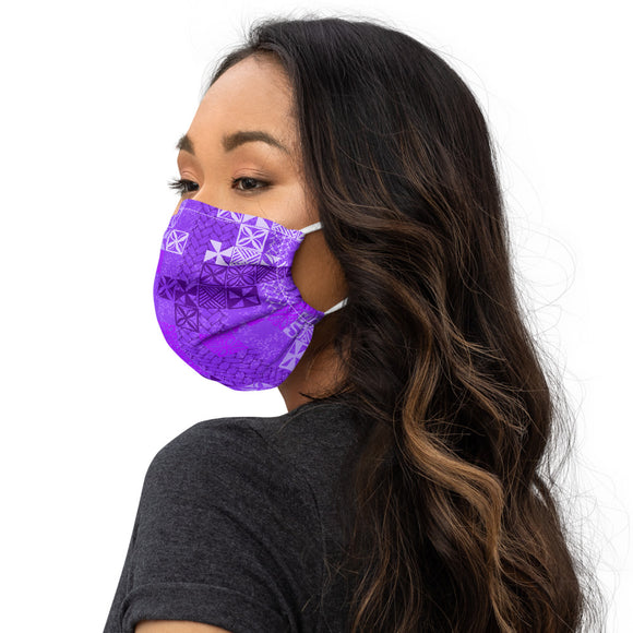 Tapa Tuesday Purple Premium face mask