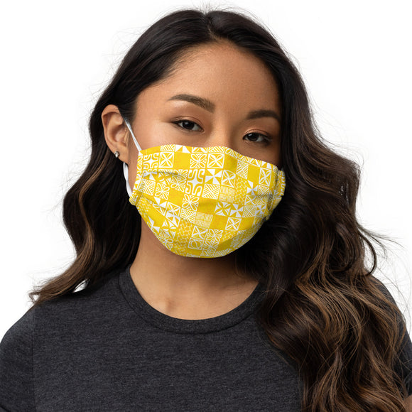Tapa Yellow Premium face mask