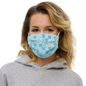 Tapa Blue Premium face mask