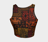 Moku Malihini Black Crop Top - The Mad Tropic