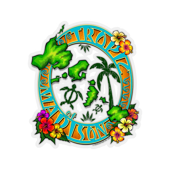 Sticker - Tropic of Madison Luau