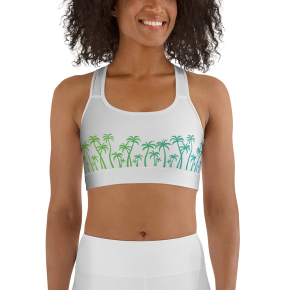 the-madtropic - MadTropic Treeline #1 Sports bra - Printful - sports bra