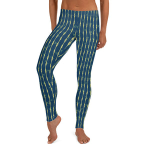 Bamboo Midnight Leggings - The Mad Tropic