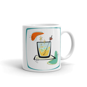Cocktail Mug blue frame - The Mad Tropic