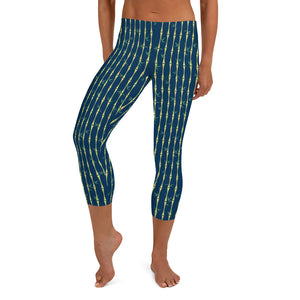 Bamboo Midnight Capri Leggings - The Mad Tropic