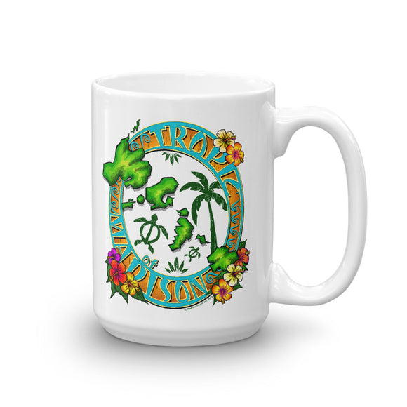Tropic of Madison Luau Mug - The Mad Tropic