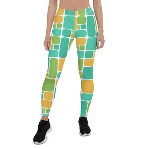 Linoleum 1 Leggings - The Mad Tropic
