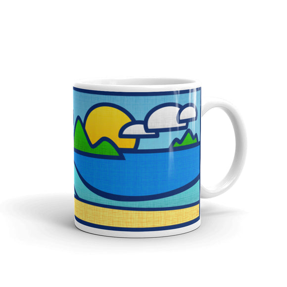 the-madtropic - Shore Break Mug - Printful - mug