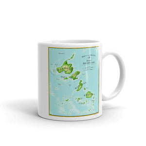 Archipelago Map Mug - The Mad Tropic