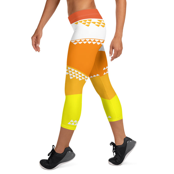 Rise & Shine Capri Leggings - The Mad Tropic