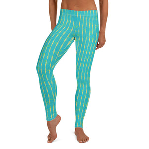 Bamboo Tropicana Leggings - The Mad Tropic