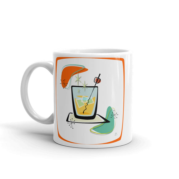 Cocktail Mug orange frame - The Mad Tropic