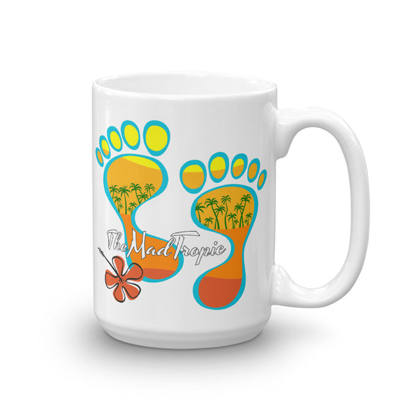 Barefootin' Mug #3 - The Mad Tropic
