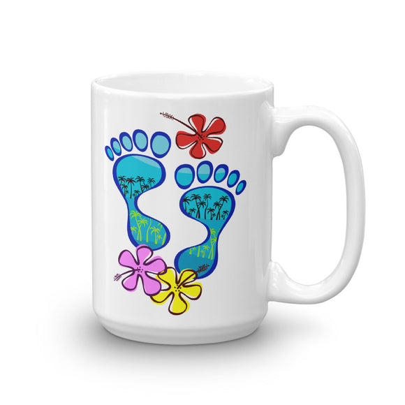 Barefootin' Mug #4 - The Mad Tropic