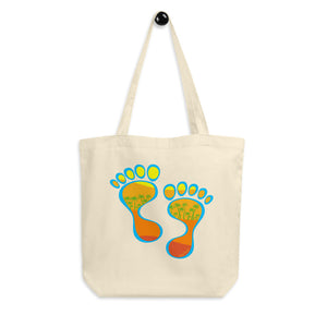 Barefootin' Warm Eco Tote Bag