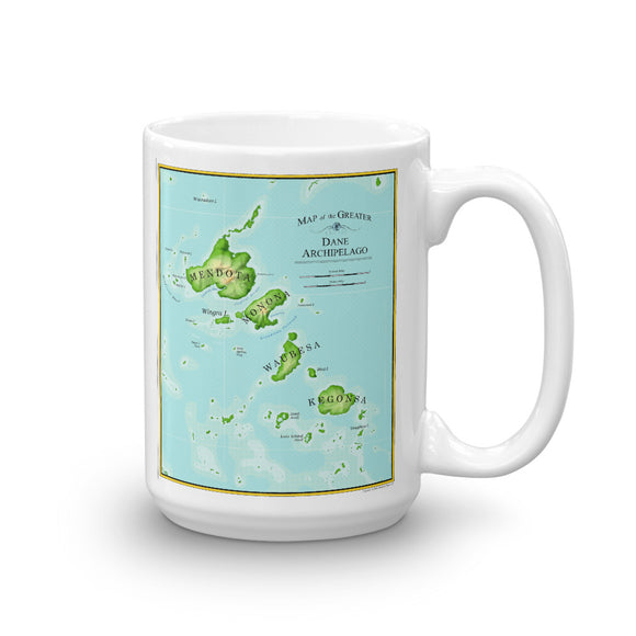 Archipelago Map Mug
