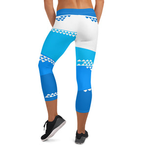 Dive Day Capri Leggings - The Mad Tropic