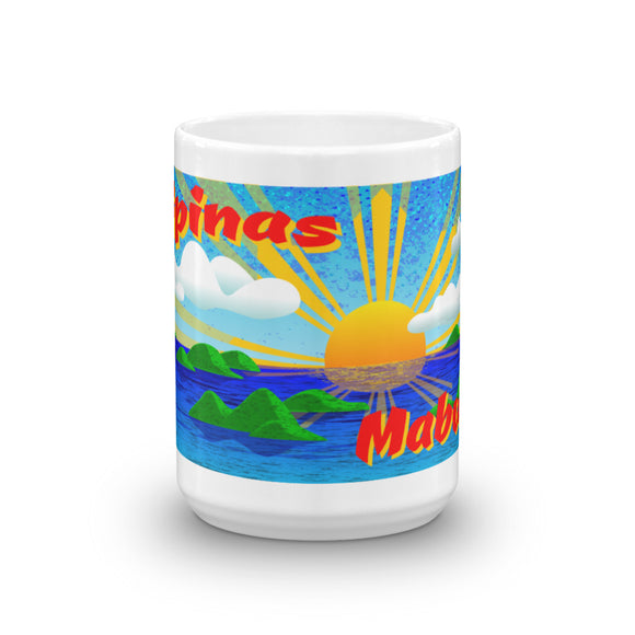 Pilippinas Mabuhay Mug - The Mad Tropic