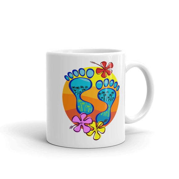 Barefootin' Mug #5 - The Mad Tropic