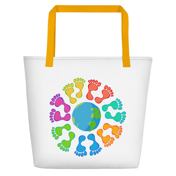 Tropic Planet Beach Bag - The Mad Tropic