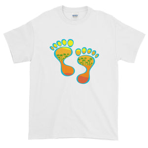 Barefootin' #1 Short Sleeve T-Shirt - The Mad Tropic