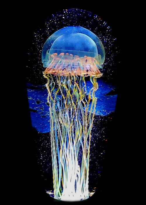 Moon Jellyfish Seascape