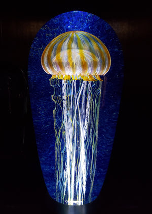 Passion Moon Seascape Jellyfish