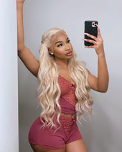 Load image into Gallery viewer, Russian Blonde Bodywave Lace Front Wig