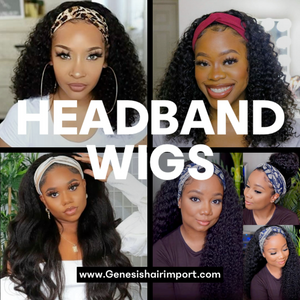 Get up n Go Straight Headband Wigs