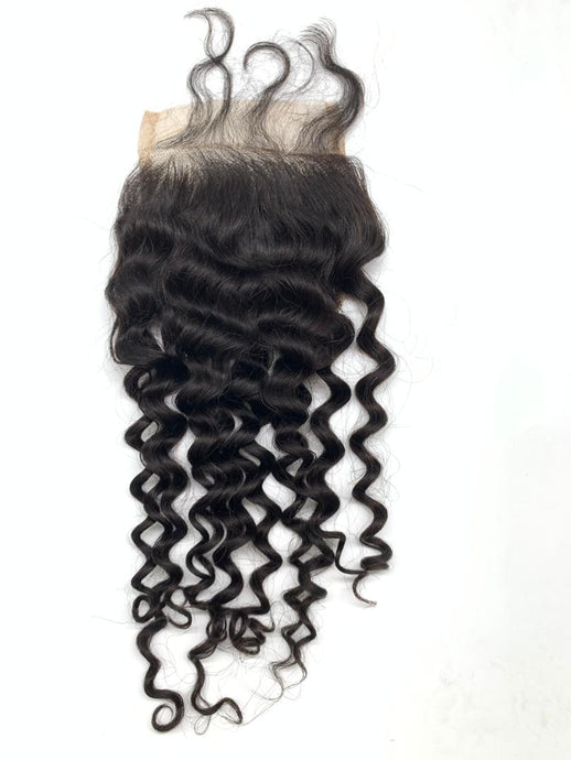 Italy Curl Lace Closure