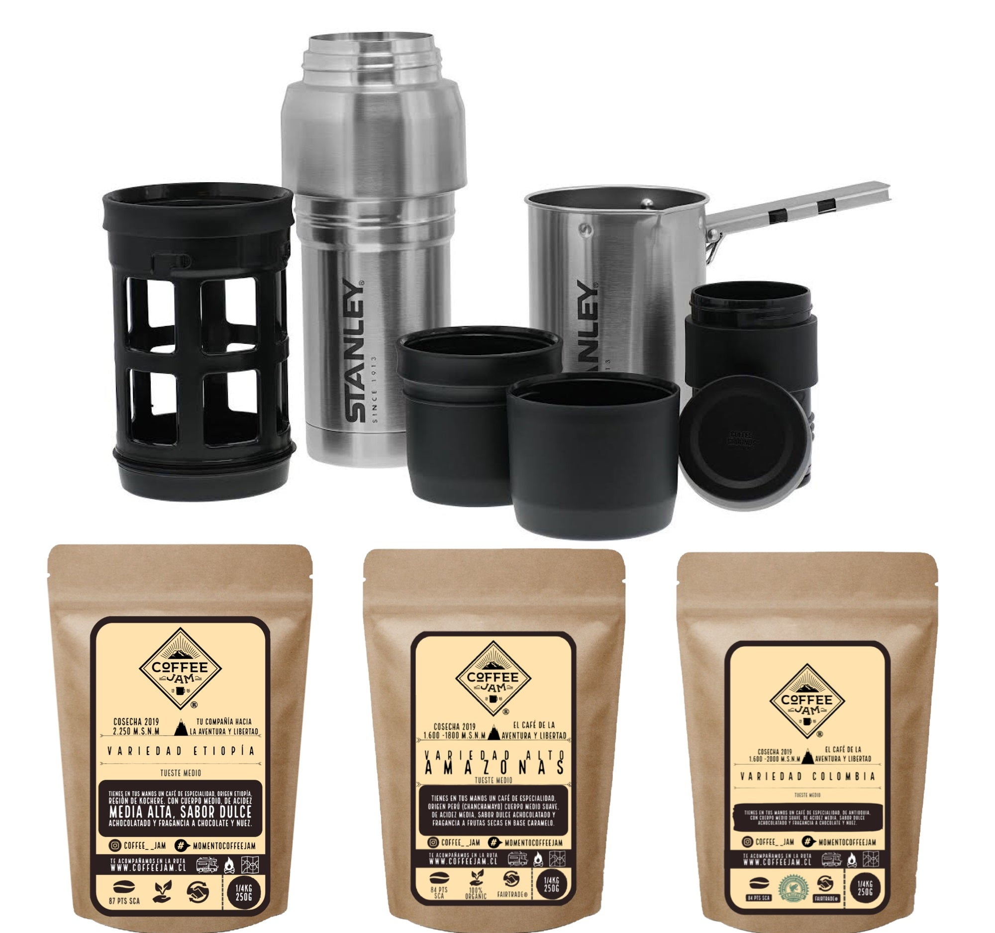 PACK COFFEE JAM SYSTEM