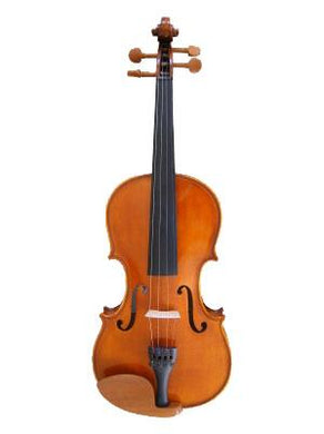 Flame Lily Violin Solid Spruce and Maple - Luda Customs