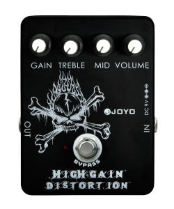 High Gain Distortion Pedal - Luda Customs